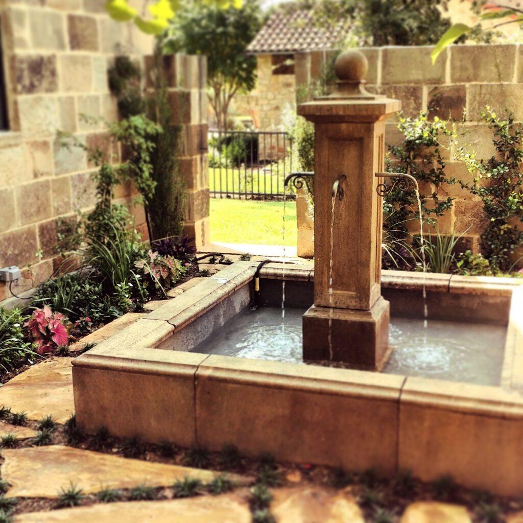 Landscape Fountain